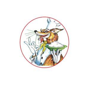 la volpe mascotte della sagra del riso